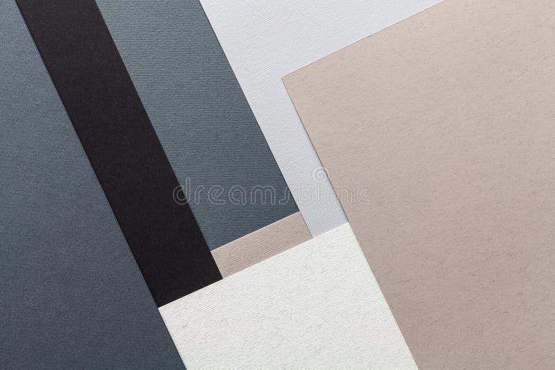 Composición de papel de la textura fotos de archivo