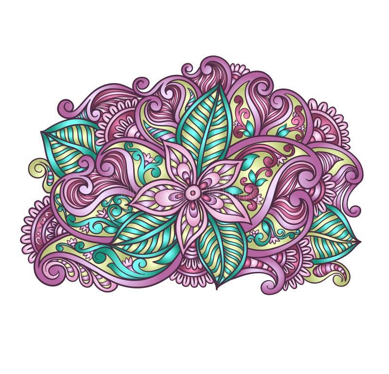 Composición decorativa de la flor libre illustration