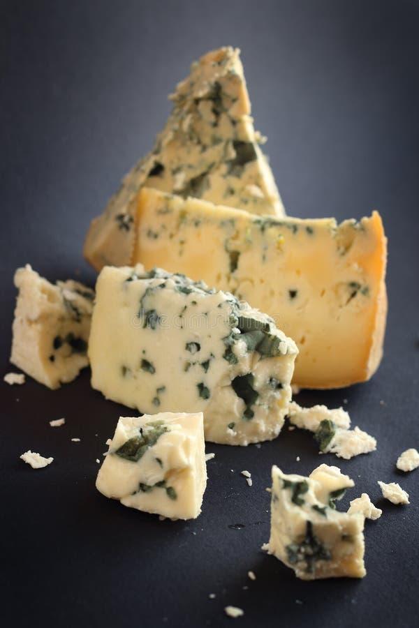 Composición del queso del Roquefort fotos de archivo libres de regalías