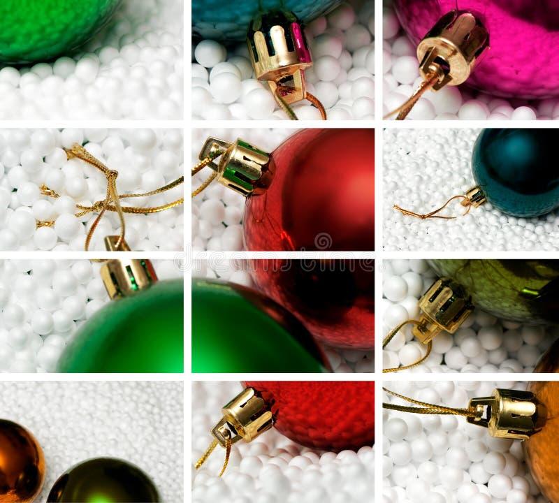 Composición del tema de la Navidad foto de archivo libre de regalías