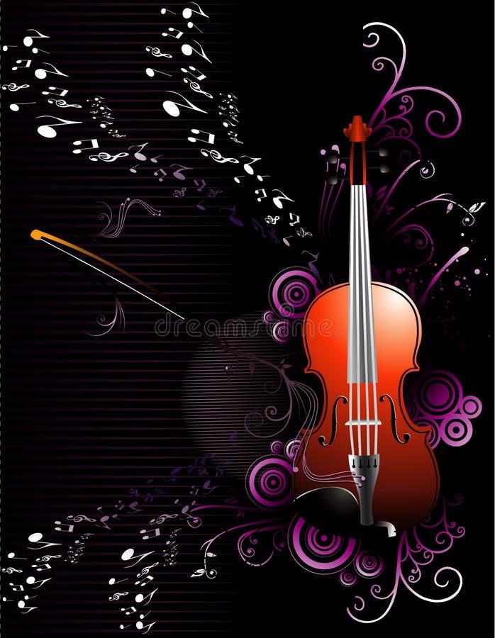 Composición del vector de la música ilustración del vector