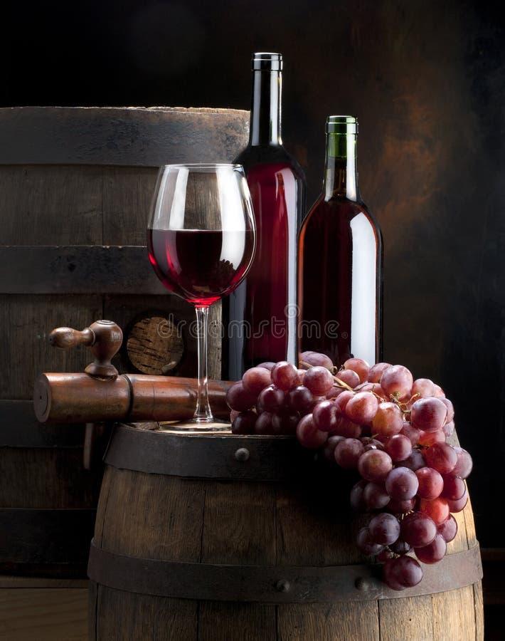 Composición del vino fotografía de archivo