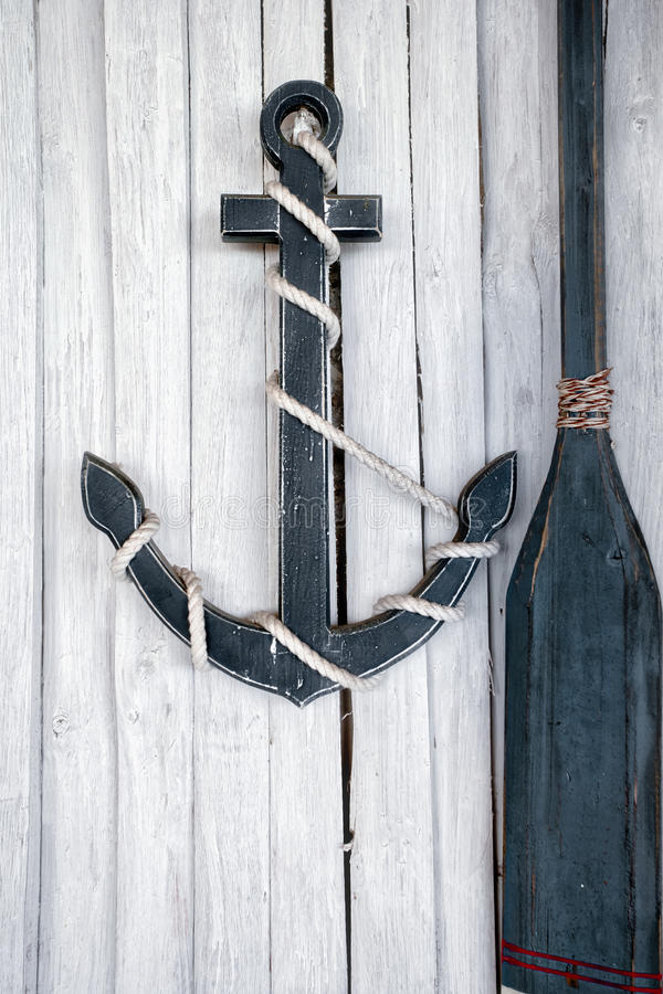 Composición en el tema marino foto de archivo libre de regalías