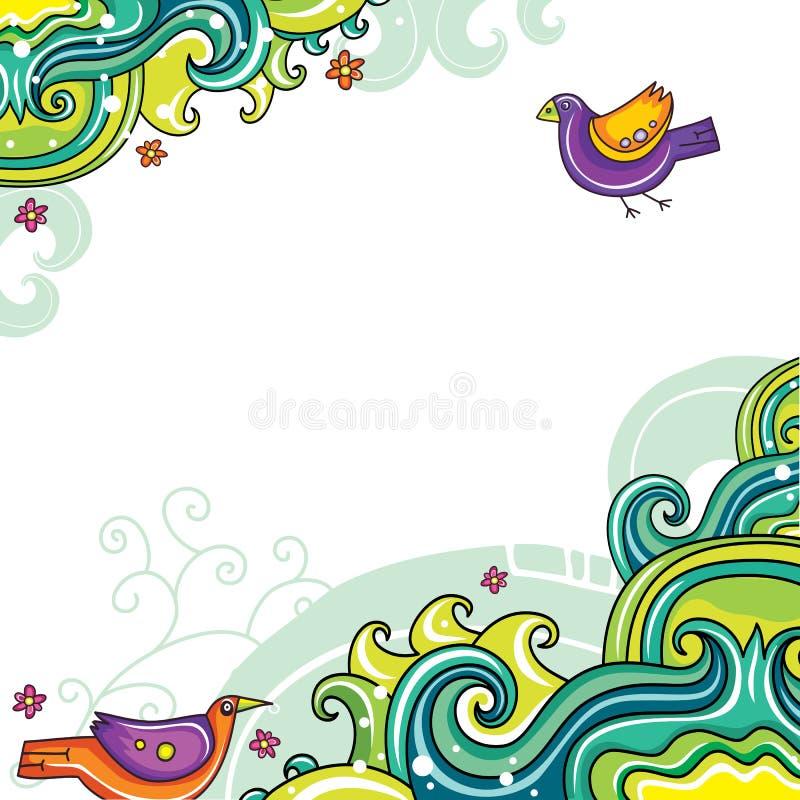 Composición floral 11 libre illustration
