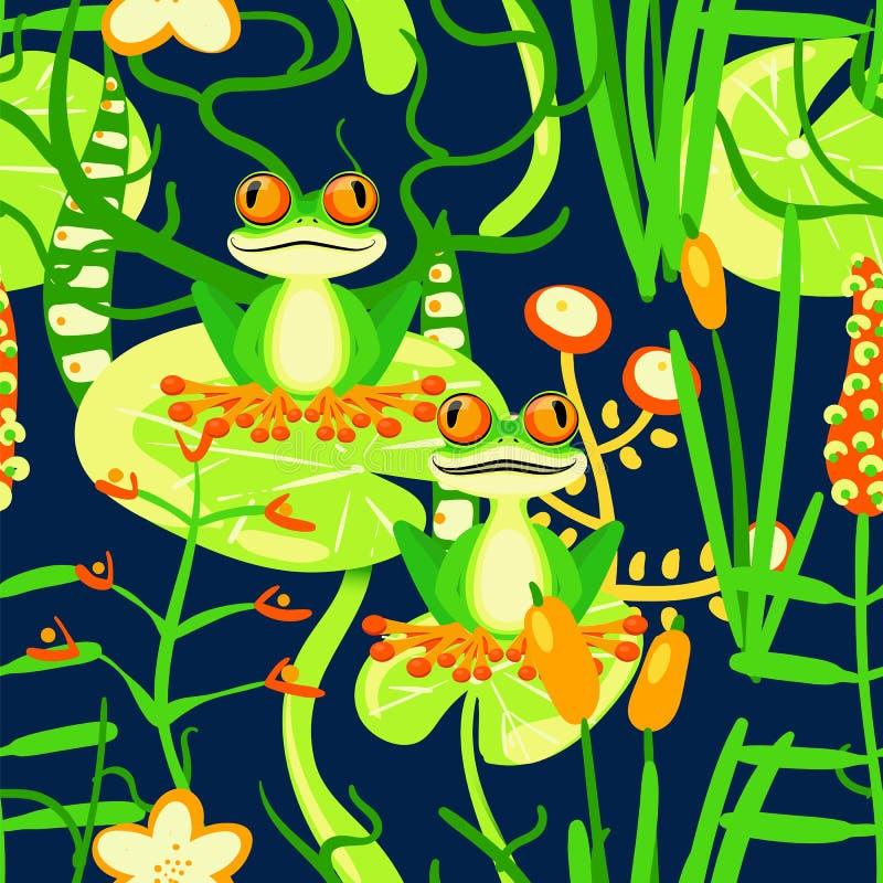 Composición floral stock de ilustración
