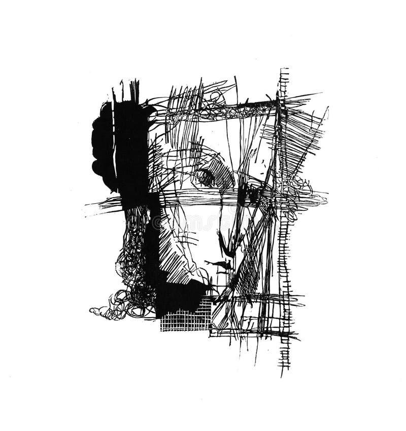 Composición gráfica stock de ilustración