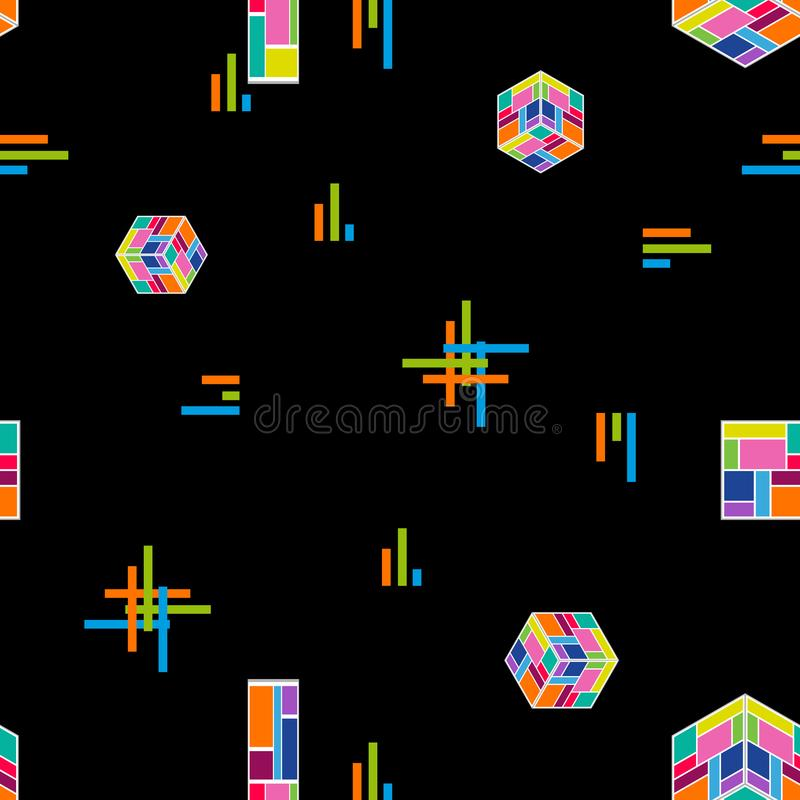 Composición moderna abstracta ilustración del vector
