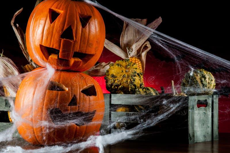 Composición oscura del tema de Halloween fotos de archivo