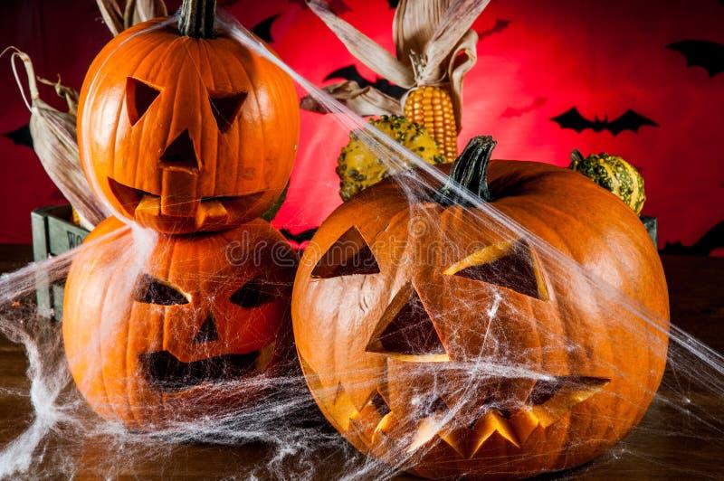 Composición oscura del tema de Halloween fotografía de archivo