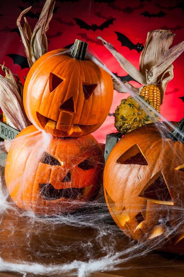 Composición oscura del tema de Halloween imagenes de archivo
