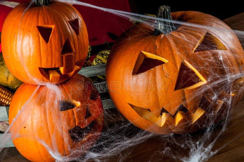 Composición oscura del tema de Halloween fotografía de archivo libre de regalías