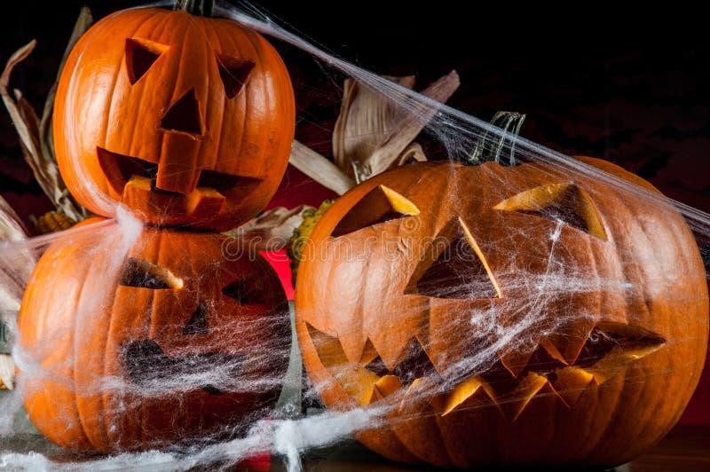 Composición oscura del tema de Halloween foto de archivo