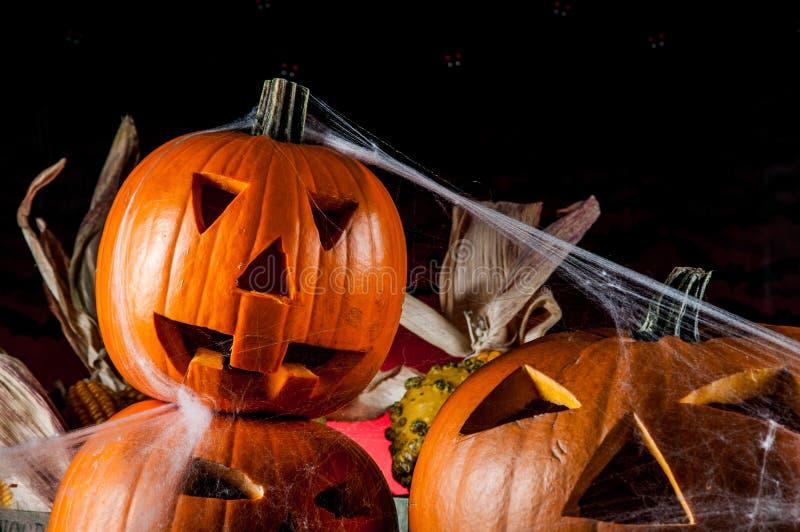 Composición oscura del tema de Halloween imagen de archivo libre de regalías