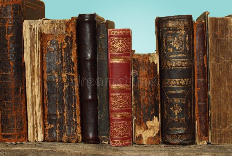 Composición retra con los libros fotografía de archivo libre de regalías