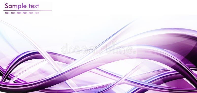 Composición violeta del fondo ilustración del vector