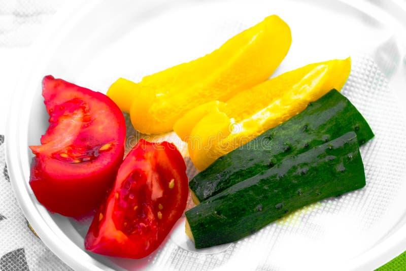 Composici?n con las verduras org?nicas crudas clasificadas Dieta del Detox fotografía de archivo libre de regalías