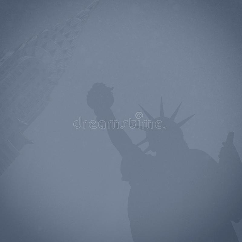 Composite Background New York City royalty free stock photos