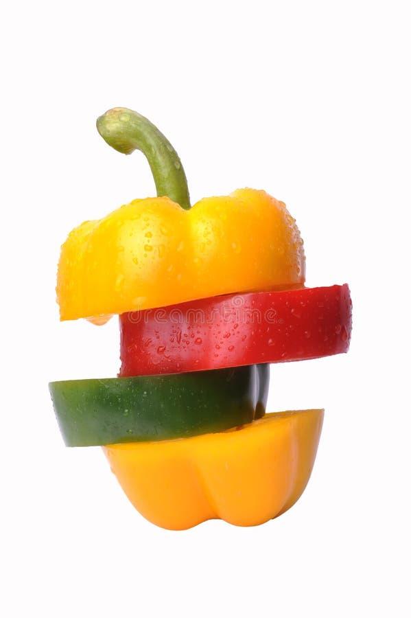 Composite colored pepper