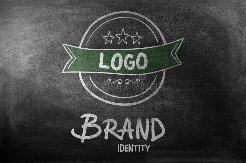 Composite image of brand identity doodle vector illustration
