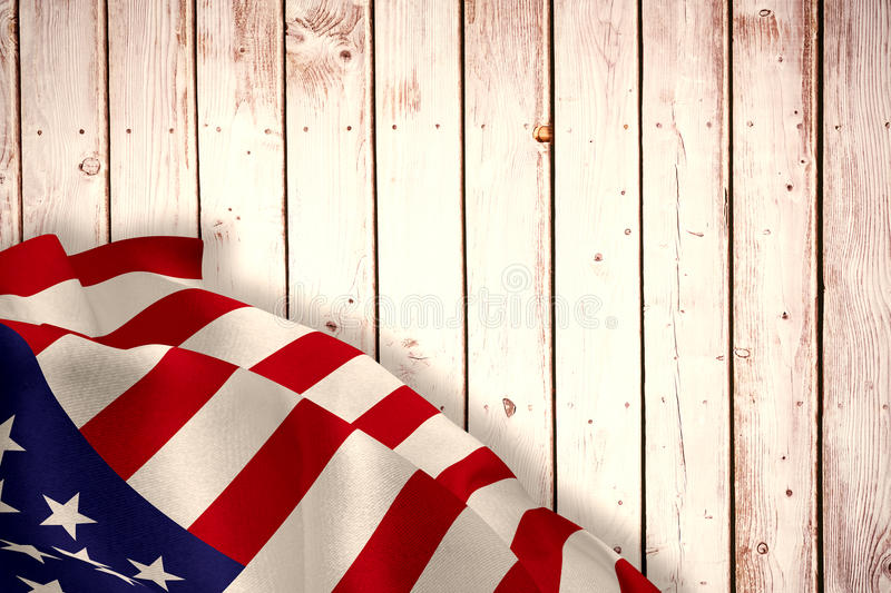 Composite image of close up of the us flag royalty free illustration