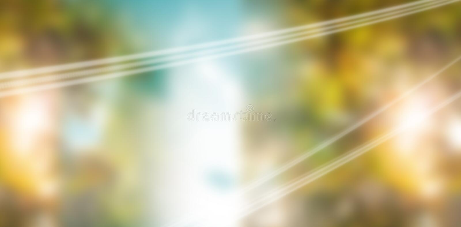 Composite image of coloured background with shiny lines stock photo