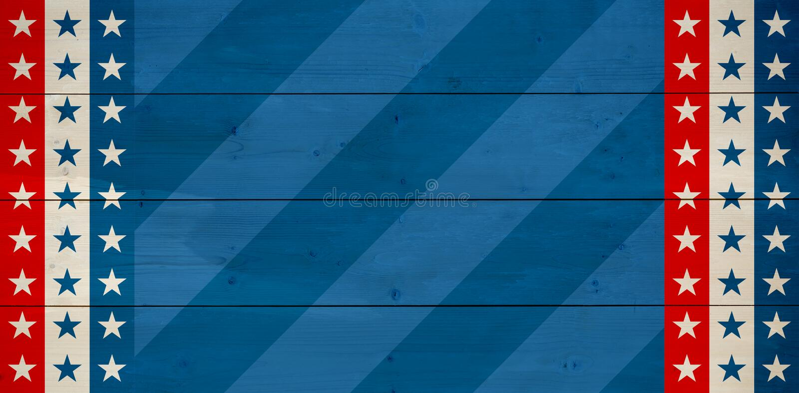 Composite image of line in a blue background stock illustration