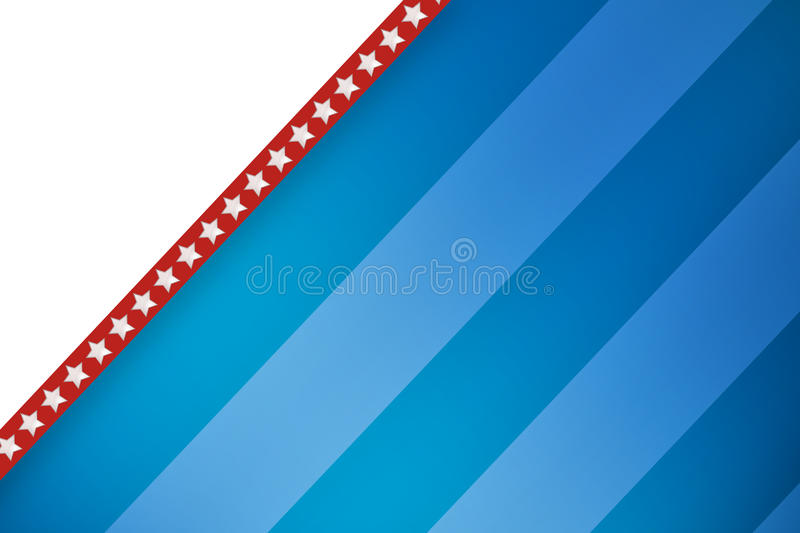 Composite image of line in a blue background royalty free illustration