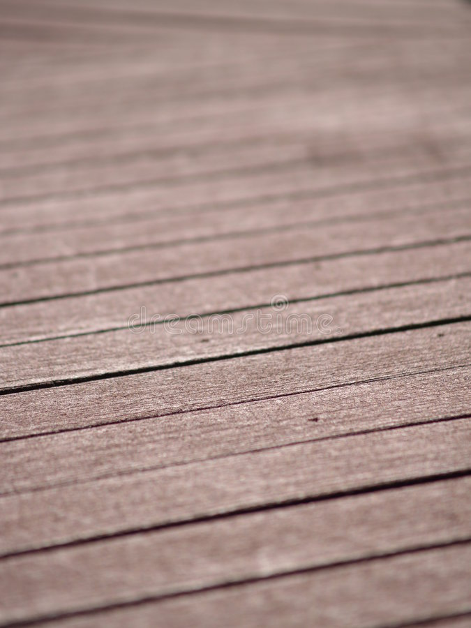 Composite Porch Decking Design Royalty Free Stock Photography