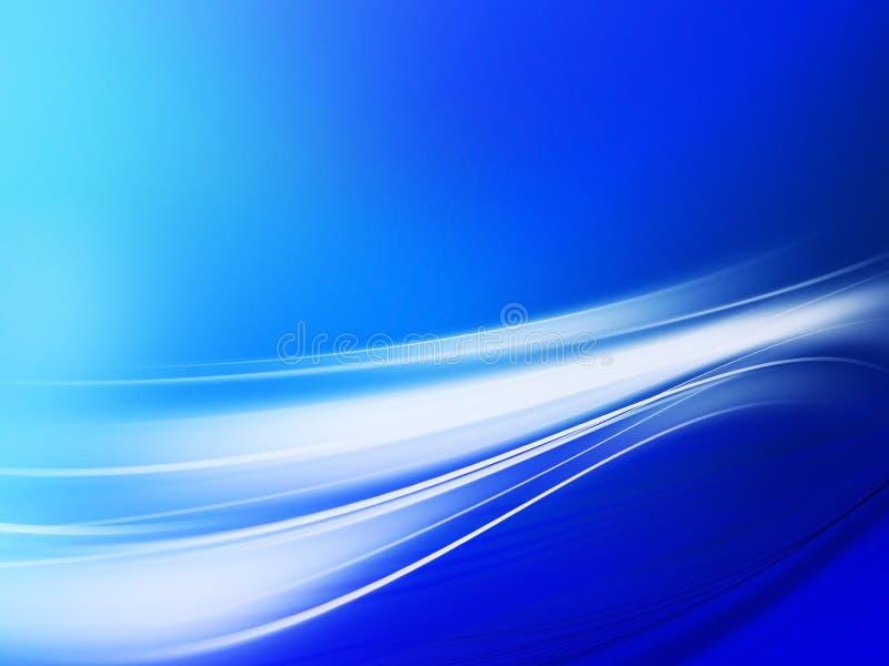 Composition abstraite bleue illustration stock