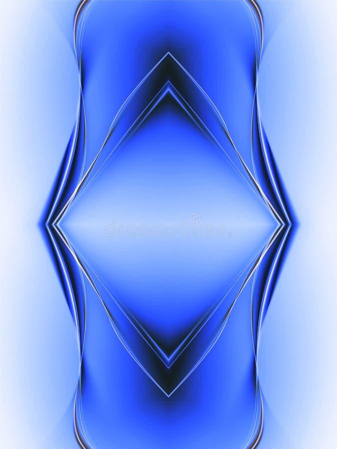 Composition abstraite bleue illustration de vecteur