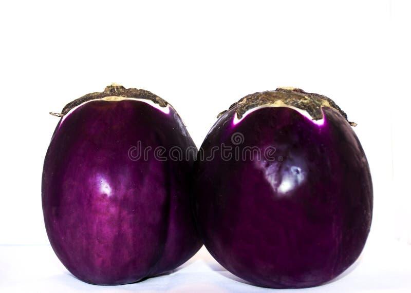 Composition avec l'aubergine photographie stock libre de droits