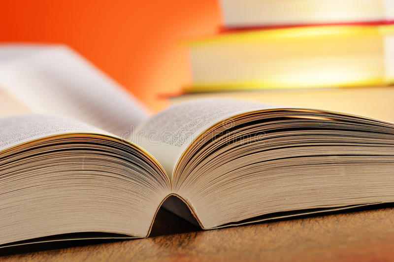 Download Composition With Books On The Table Stock Image - Image: 35643231