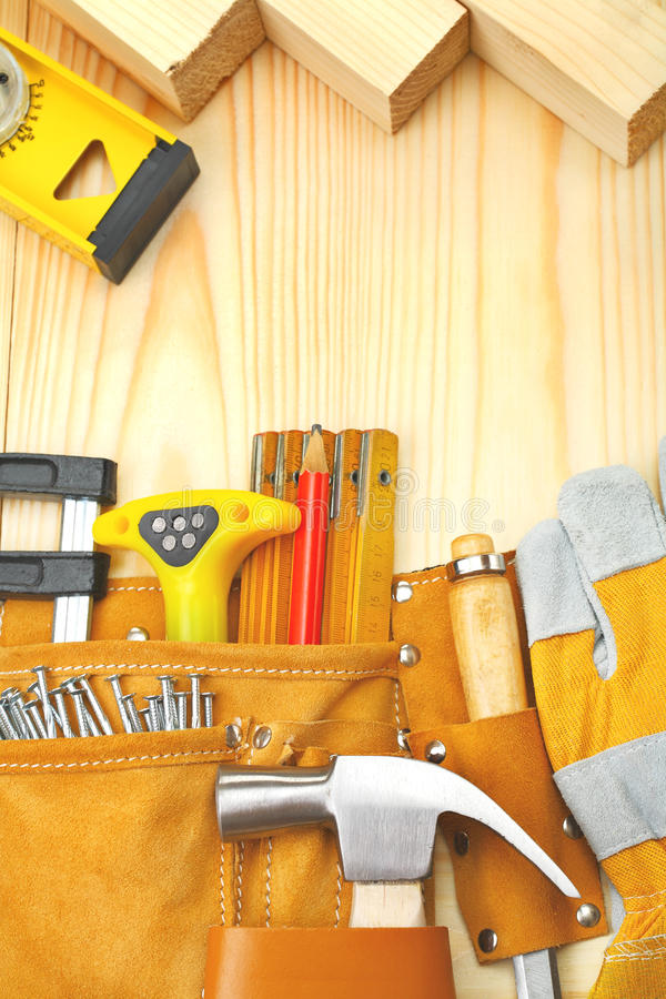 Download Composition Of Building Tools Stock Photo - Image: 26154346