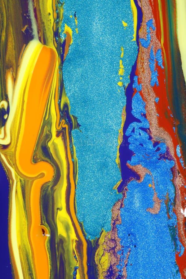 Composition colorée photo stock
