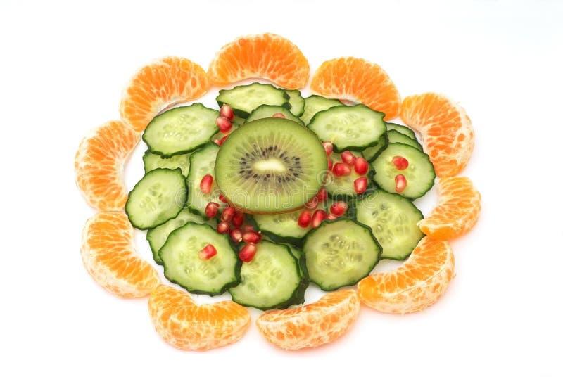 Composition de nourriture végétarienne photo stock