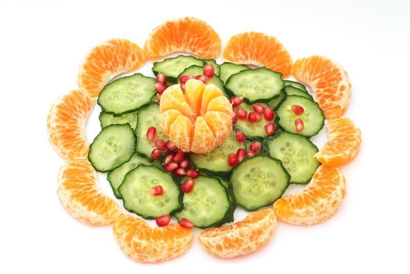 Composition de nourriture végétarienne image libre de droits