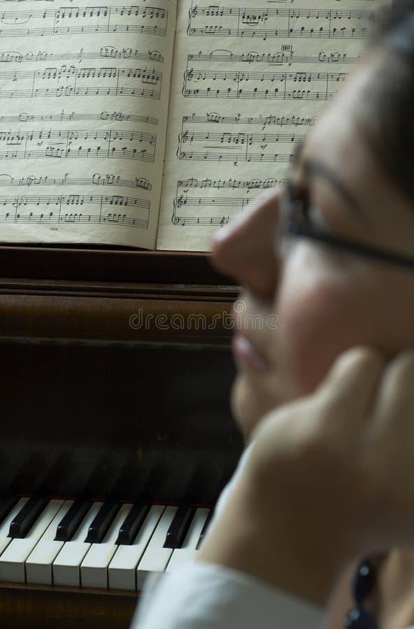 Composition de piano images stock