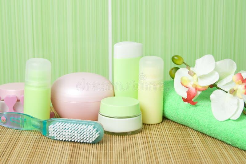 Composition de salle de bains image stock