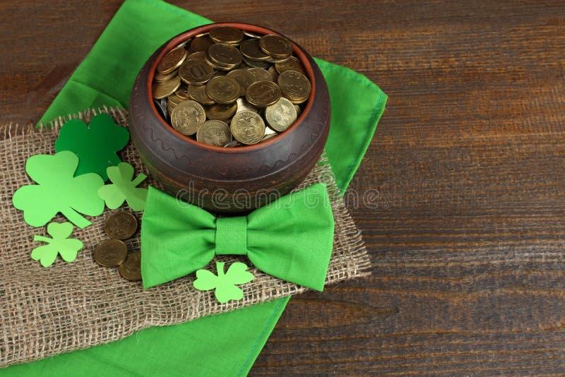 Composition de St Patrick photos stock