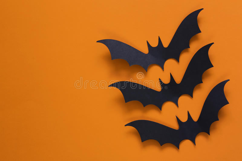 The composition decor for Halloween royalty free stock photography