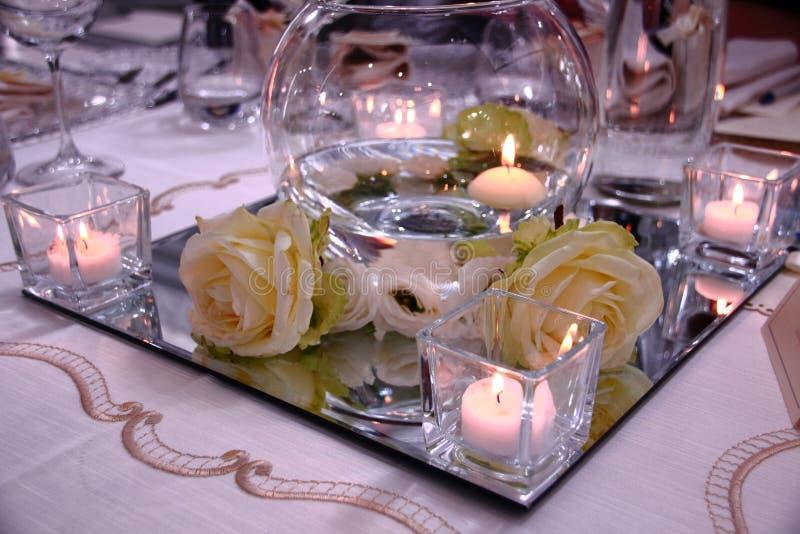 Composition des lumières, des couleurs et des parfums pour le jour du mariage images stock
