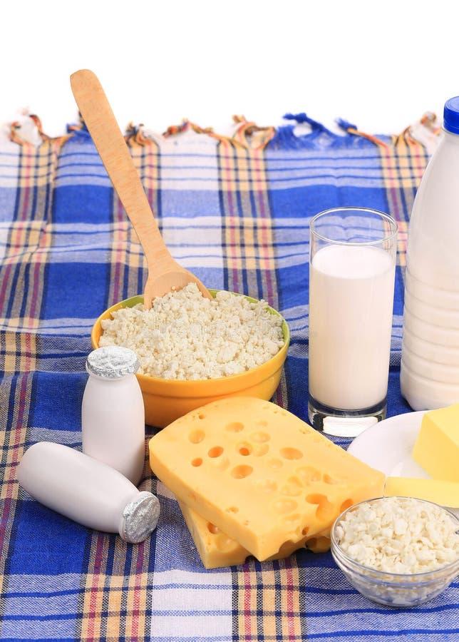 Composition des produits sains de petit déjeuner images stock