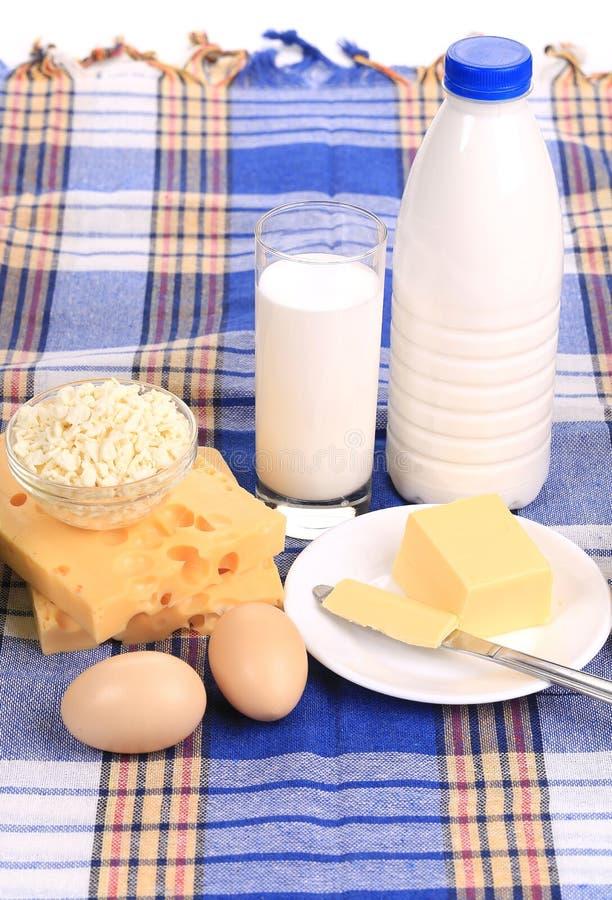 Composition des produits sains de petit déjeuner. photos stock