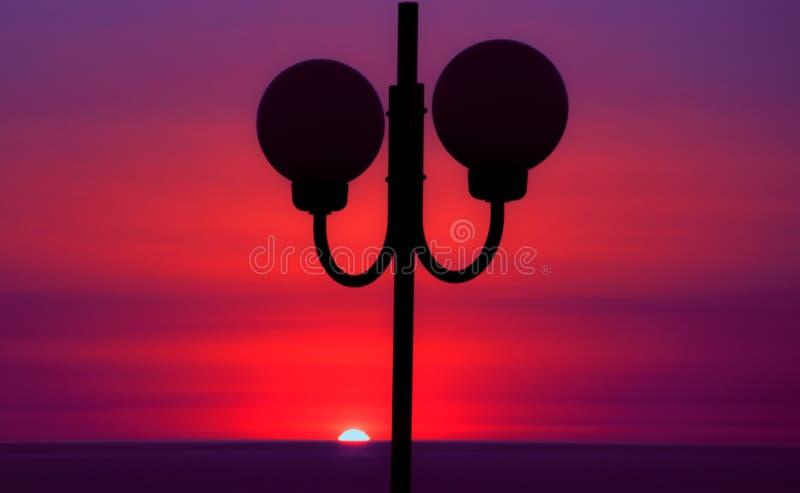 Composition en coucher du soleil image libre de droits