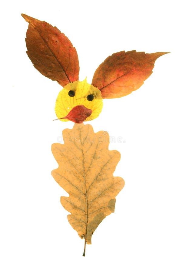 Composition en feuilles d'automne photos stock
