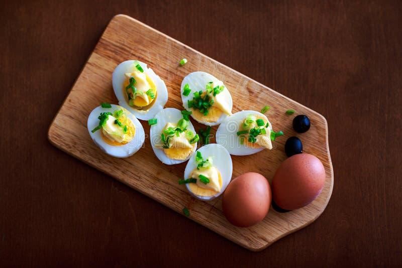 Composition en petit déjeuner image stock