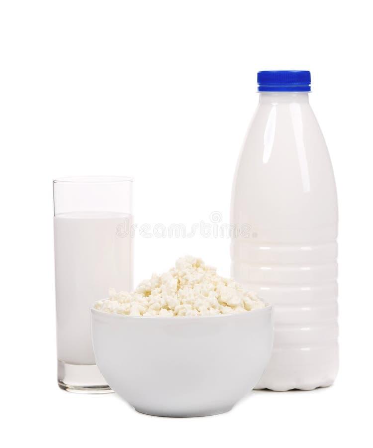 Composition en produits laitiers. photo libre de droits