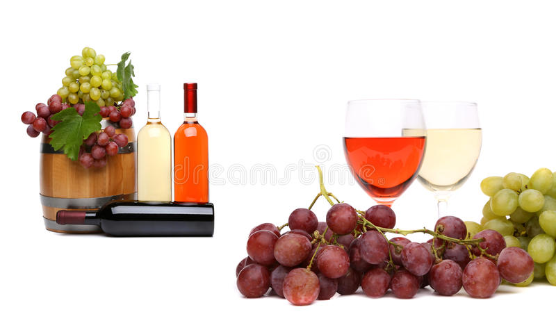 Composition en vin. image stock