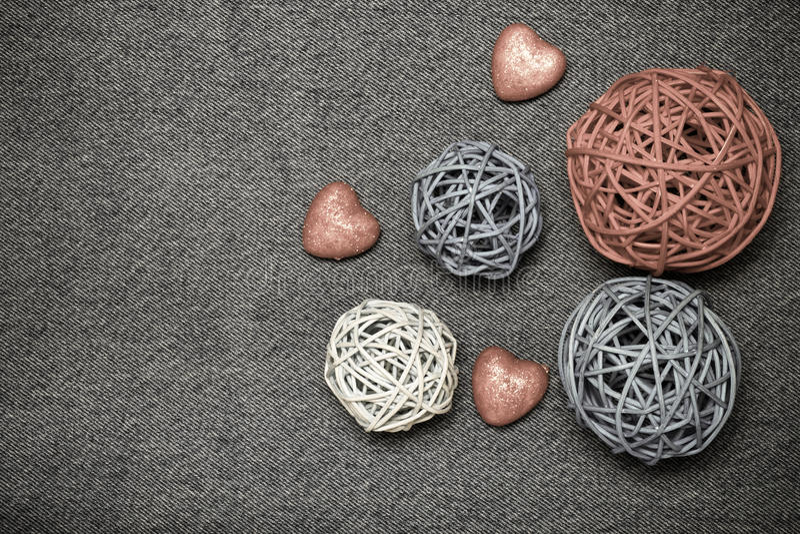 Composition et espace romantiques pour le texte Thème romantique d'amour dessus photographie stock libre de droits