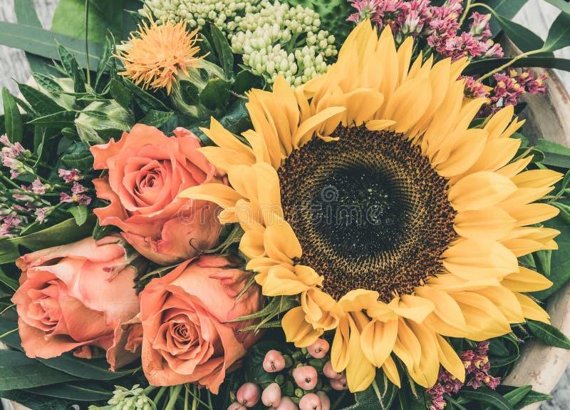 composition florale photographie stock libre de droits